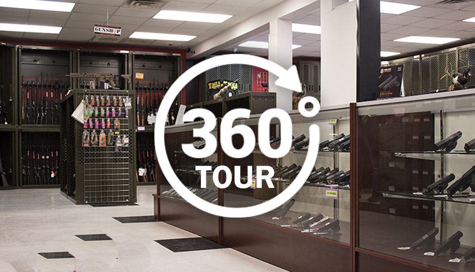 Gun Shop Jacksonville North Carolina Location Link to 360 Tour